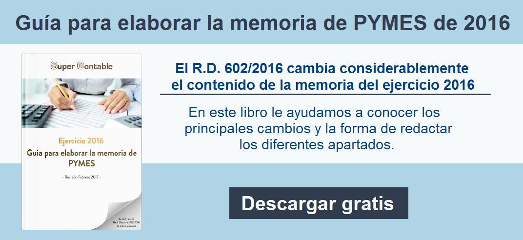 Memoria PYMES 2016