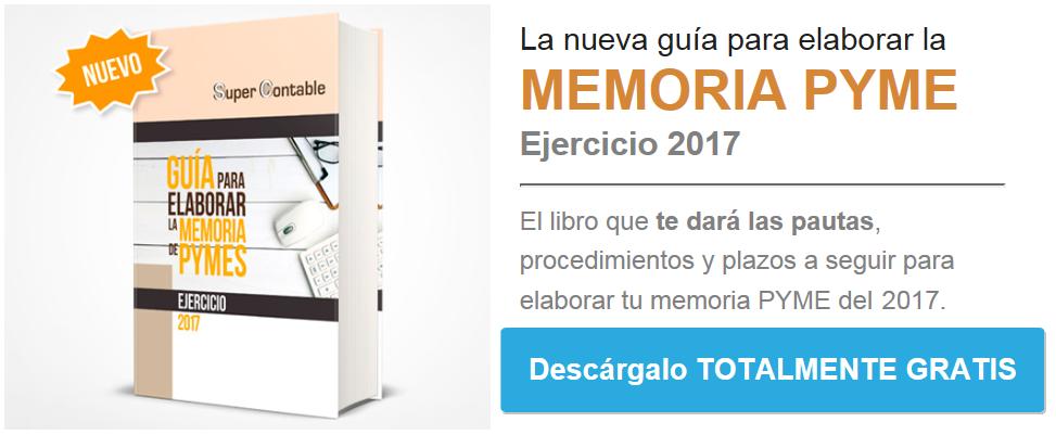 Memoria PYMES 2017
