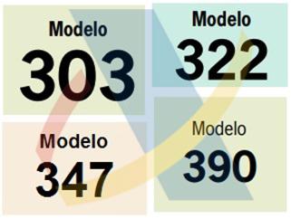 Cambios en modelos 303, 322, 347 y 390